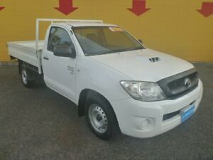 2010 Toyota Hilux KUN16R MY10 SR White 5 Speed Manual Cab Chassis Winnellie Darwin City Preview