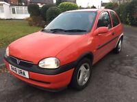 Vauxhall Corsa 1.6 sport Corsa B 12 months mot