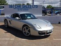 PORSCHE CAYMAN 3.4 24V S TIPTRONIC S 2d AUTO 295 BHP A GREAT EXAM (silver) 2006