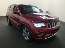 2015 Jeep Grand Cherokee WK MY15 Overland (4x4) Deep Cherry 8 Speed Automatic Wagon Clemton Park Canterbury Area Preview