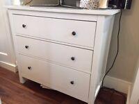 IKEA HEMNES chest of drawers, white