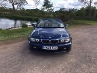 BMW 325CI CONVERTIBLE 2004 BLUE