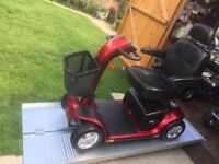 25 Stone Capacity Pride Colt Sport Mobility Scooter Anti Theft Alarm Any Terrain CCTV- Was £3200