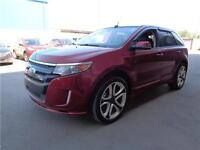 ** 2013 ** FORD ** EDGE ** SPORT ** AWD ** ONLY 25,280 KM **