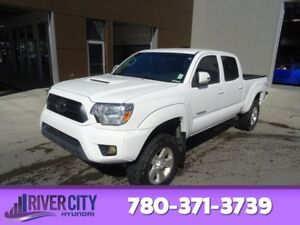 2013 Toyota Tacoma 4WD DOUBLECAB TRD V6 Accident Free,  Leather,