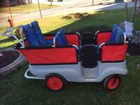 Selling six seater wagon for daycare