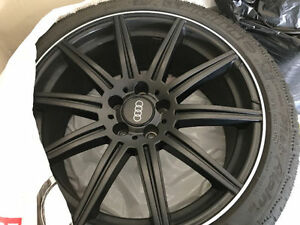 AUDI A7 Winter Tire Package with TPMS