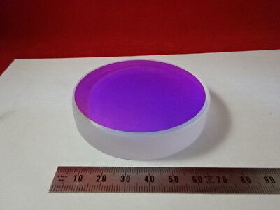 Optical Flat Fused Silica 3 Dia Dichroic Mirror 110 Wave Laser Optics 6-a-26