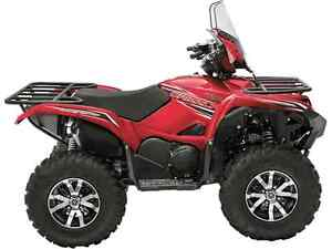 YAMAHA GRIZZLY DAE LE ROUGE 2017