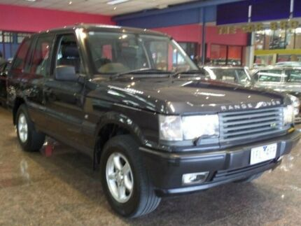2000 Land Rover Range Rover HSE Charcoal 4 Speed Automatic Wagon South Melbourne Port Phillip Preview