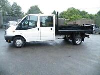 2013 Ford Transit 2.2TD Double Cab, 27000 miles only
