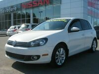 2012 Volkswagen Golf CONFORTLINE TDI MAG SUR PNEUS HIVER INCLUS