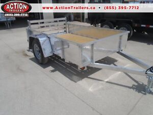 DISCOUNTED PRICE - QUALITY ALL ALUMINUM 5X8 UTILITY TRAILER
