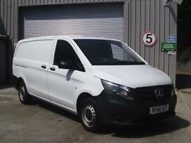 Mercedes-Benz Vito Vito Long 114Cdi Bluetec Van DIESEL MANUAL WHITE (2016)