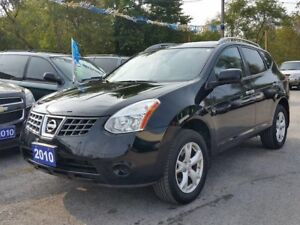 2010 Nissan Rogue certified..LOW KMS!!