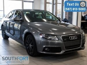 2012 Audi A4 2.0T Premium AWD|AUTO|HEAT SEATS|LEATHER|ROOF