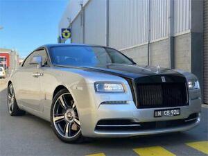 2014 Rolls-Royce Wraith 665C Silver 8 Speed Automatic Coupe Auburn Auburn Area Preview
