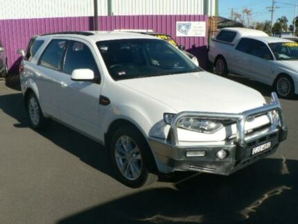 2012 Ford Territory SZ TS (RWD) White 6 Speed Automatic Wagon Dubbo Dubbo Area Preview