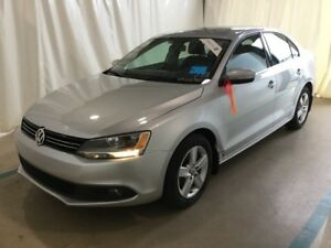 2013 Volkswagen Jetta Diesel Comfortline with VW factory warrant