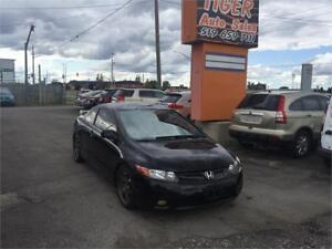 2008 Honda Civic Cpe Si***6 SPEED MANUAL***AFTERMARKET WHEELS