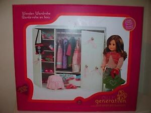 Our Generation Doll Wardrobe