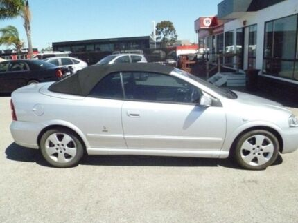 2005 Holden Astra TS MY05 Silver 4 Speed Automatic Convertible