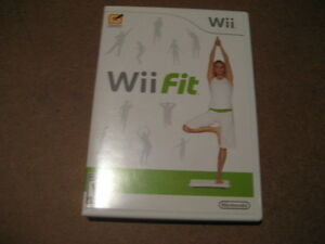 nintendo wii fit game CD. E. $10