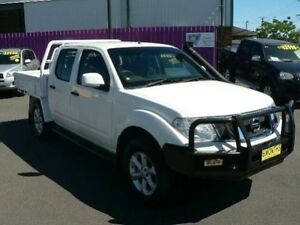 2011 Nissan Navara D40 ST (4x4) White 6 Speed Manual Dual Cab Chassis Dubbo Dubbo Area Preview