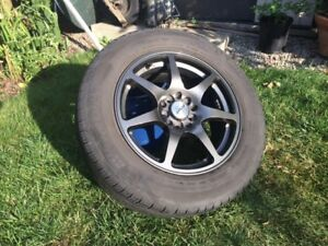 Tire and rims for sale - set of four