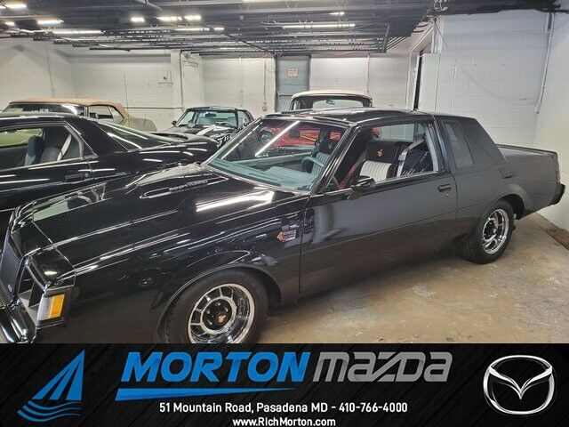 1987 Buick Regal Grand National 36527 Miles Black 2D Coupe 3.8L V6 Automatic