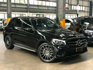 2017 Mercedes-Benz GLC350 X253 d Wagon 5dr 9G-TRONIC 9sp 4MATIC 3.0DT [Jun] Black Sports Automatic Port Melbourne Port Phillip Preview