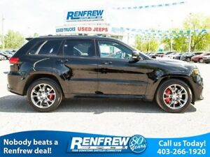 2018 Jeep Grand Cherokee SRT 4x4, LOW KMS!!! Pano Sunroof, Nav,