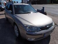 2004 54 FORD MONDEO 2.0 GHIA X 5D AUTO 130 BHP DIESEL