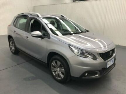 2018 Peugeot 2008 A94 MY18 ACTIVE Silver Sports Automatic Wagon Moonah Glenorchy Area Preview