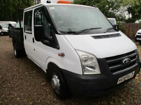 2011 Ford Transit 2.4TDCi TIPPER PICK UP 6 SPEED NO VAT 350 LWB 100,000 MILES