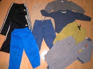 Boys Size 2,3,4 Jordans, Adidas, Childrens Place Geox Shoes London Ontario image 3