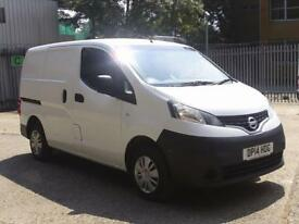 Nissan Nv200 1.5 DCI ACENTA EURO 5 DIESEL MANUAL WHITE (2014)