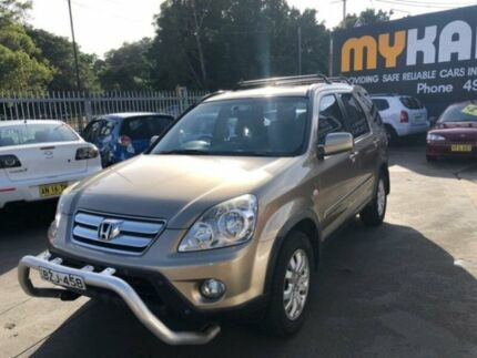 2005 Honda CR-V 2005 Upgrade (4x4) Sport Gold 5 Speed Manual Wagon