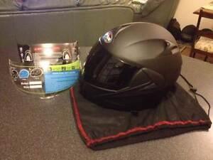 2016 NEW DOT Dual Visor Flip Up Motorcycle Helmet Matt Black Pakenham Cardinia Area Preview