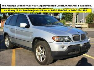 2006 BMW X5 3.0i PANORAMA LEATHER FINANCE 100% Approved WARRANTY
