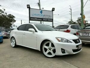 2012 Lexus IS250 GSE20R MY11 Prestige White 6 Speed Semi Auto Sedan Southport Gold Coast City Preview