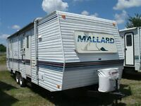 1999 30' Mallard by Fleetwood Trailer Model 29F