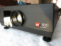 GAF 501 Automatic slide projector - Immaculate condition