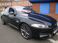 15 JAGUAR XF 2.2TD ( 200ps ) AUTO R-SPORT //LEATHER //CRUISE//SNAV// PS