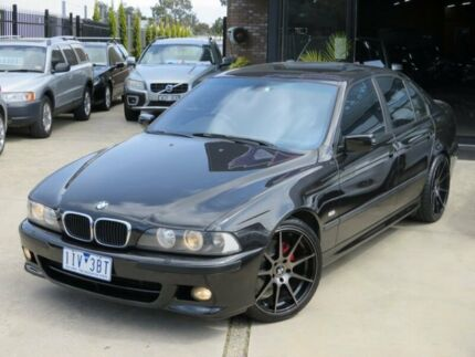 2002 BMW 530i E39 Sport Black Onyx 5 Speed Auto Steptronic Sedan