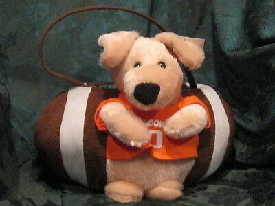 NEW Plush Dog Football Easter Basket