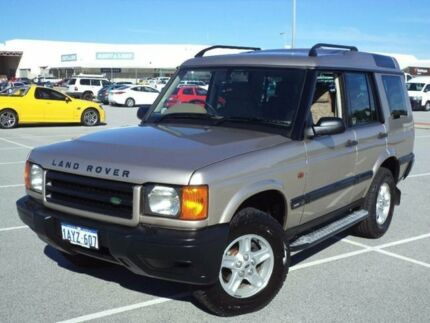 2001 Land Rover Discovery TD5 (4x4) Gold 4 Speed Automatic 4x4 Wagon Maddington Gosnells Area Preview