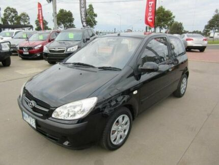 2008 Hyundai Getz TB Upgrade S Black 4 Speed Automatic Hatchback Hoppers Crossing Wyndham Area Preview