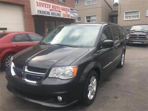 2011 Dodge Grand Caravan Crew,LEATHER SEATS ,DVd,NAVIGATION