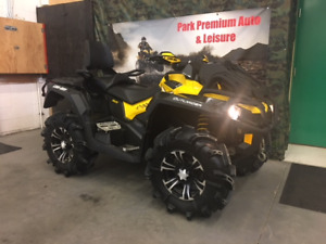 2014 Can-Am xmr 1000, low low kms for $89 bi-weekly!!